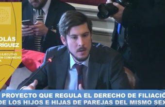 El profesor Nicolás Rodríguez expuso en el Congreso Nacional
