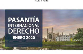Pasantía Internacional Derecho - Enero 2020