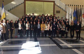 Visita Pedagógica al Congreso Nacional de la Región de Valparaíso