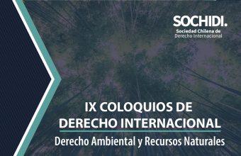 IXColoquiode Derecho Internacional: Se desarrollará este 7 y 8 de noviembre