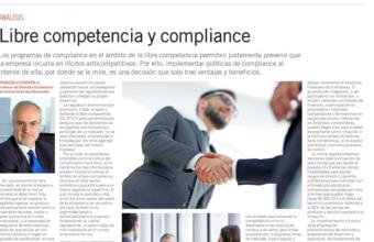 Análisis: Libre competencia y compliance, por Francisco Pfeffer