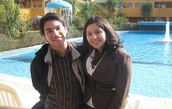 Alumnos de 3º y 4º año, respectivamente