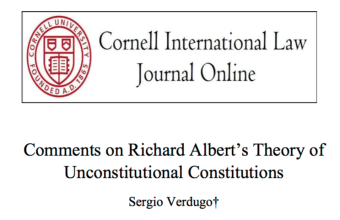 Académico participa en simposio organizado por Cornell International Law Journal