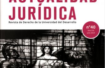 Revista Actualidad Jurídica, Nº40