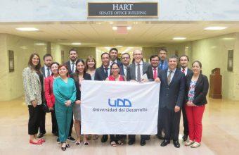 Por primera vez participa alumnos del MDE, sede Concepción en Pasantía Internacional