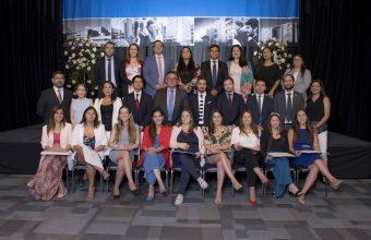 Ceremonia de titulación de los Programas de Postgrado de la Facultad de Derecho, sede Concepción