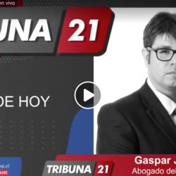 Gaspar Jenkins es entrevistado por modificaciones a las fechas de las elecciones