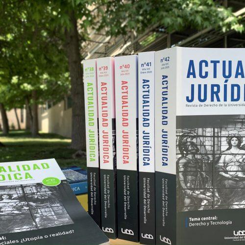 Revista Actualidad Jurídica lanza edición nº43 y página web con ediciones digitalizadas